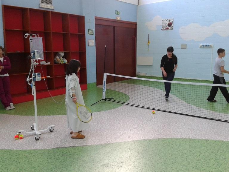 OCHO CENTROS PARTICIPAN EN EL PROYECTO «ESCUELAS DE MINITENIS EN LOS HOSPITALES»