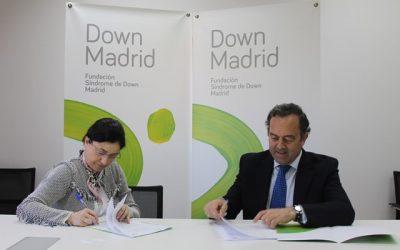 Convenio con la Fundación Down Madrid