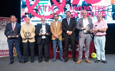 LA FUNDACIÓN DEL TENIS MADRILEÑO, PREMIADA EN LA GALA DEL 75º ANIVERSARIO DE LA FTM